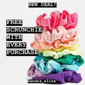 ‼️FREE SCRUNCHIE WITH EVERY PURCHASE‼️